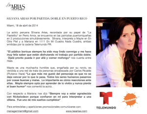 Silvana ARIAS CDP