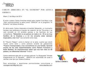Carlos Arrechea en AL EXTREMO