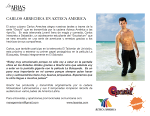 Carlos Arrechea Press Release
