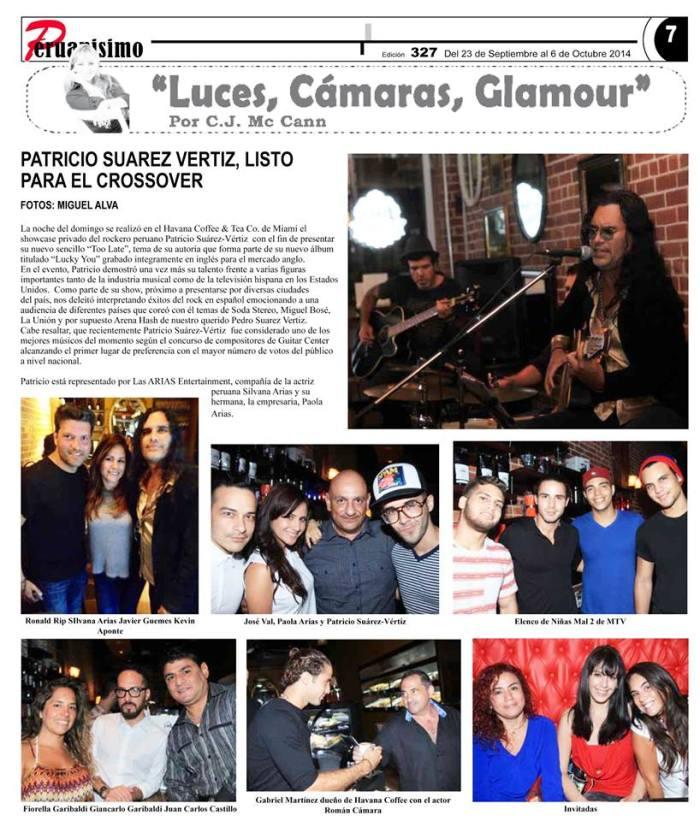 Showcase Las ARIAS Entertainment