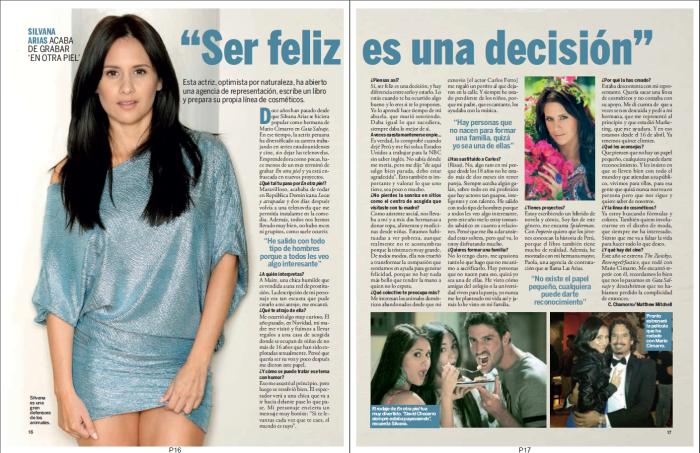 Silvana Arias. Espana Julio 2014