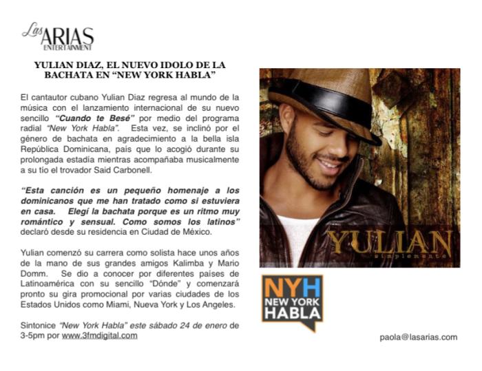 Yulian en New York Habla